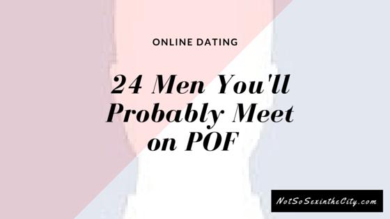 24 Men You'll Probably Meet on POF